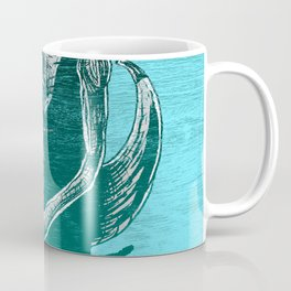 Fresh Blue Ice Cream Coffee Mug