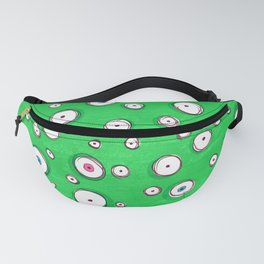 All Eyes on You - Green Fanny Pack