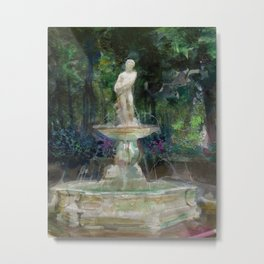 Apollo Fountain Metal Print