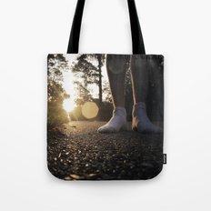 Louisiana Asphalt & White Socks Tote Bag