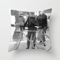 portland Throw Pillows featuring Portland  by PIAH