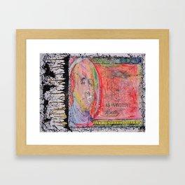 #cashhaze  Framed Art Print