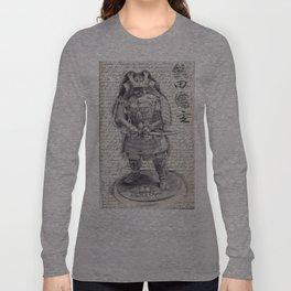 Samurai Observational Drawing Long Sleeve T-shirt