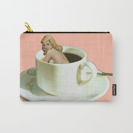 Her Name is Jo :) - pink Carry-All Pouch