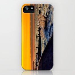 Ocean sunset at walcott iPhone Case