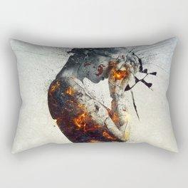 Deliberation Rectangular Pillow