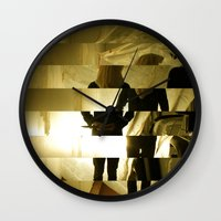 grim fandango Wall Clocks featuring Grim by  St Greyson