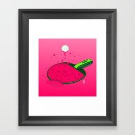 Pongermelon Framed Art Print