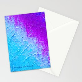 """Ocean Fog"" Painting Stationery Cards"