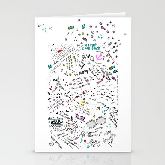 ALL IN ONE Stationery Cards