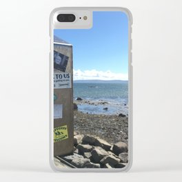 Refugees Welcome in Galway Clear iPhone Case