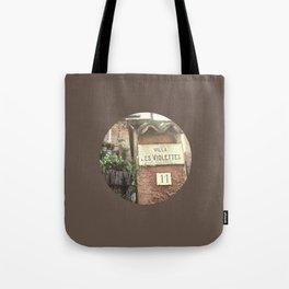 Villa Les Violettes Tote Bag