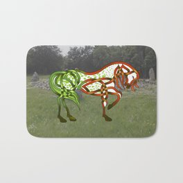 Celtic Knot Horse Bath Mat