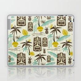 Island Tiki - Tan Laptop & iPad Skin
