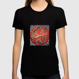 Dragon by Hokusai T-shirt