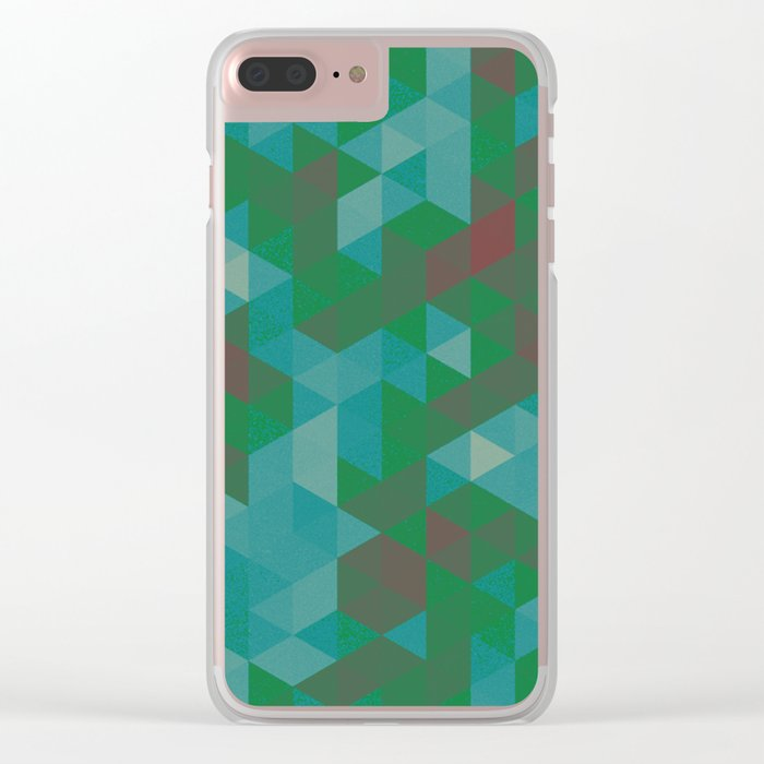 triangle 02 Clear iPhone Case