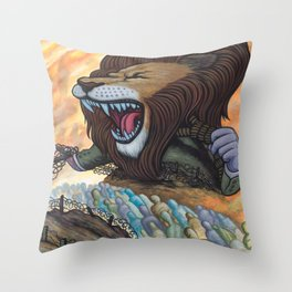 Sentry The Defiant Throw Pillow