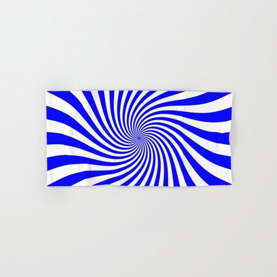 Swirl (Blue/White) Hand & Bath Towel