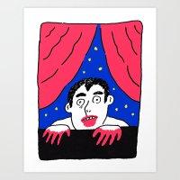 Another Long Night Art Print