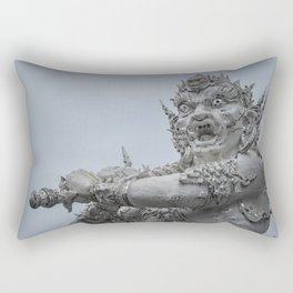 The White Temple - Thailand - 011 Rectangular Pillow