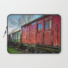 Old Train Wagon Laptop Sleeve