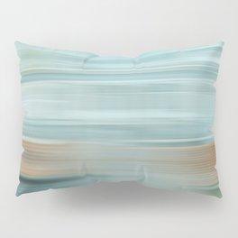 Life (Aqua and Burnt Rose) Pillow Sham