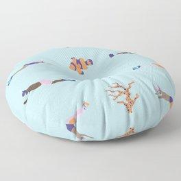 Water World Floor Pillow