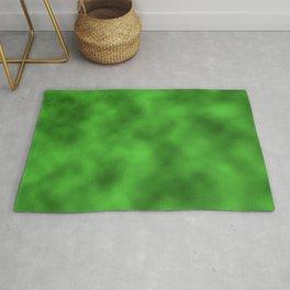 Vivid Green Foil Smooth Metal Texture Festive / Christmas Rug