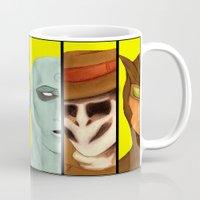 watchmen Mugs featuring Watchmen de Alan Moore by La Milana Bonita