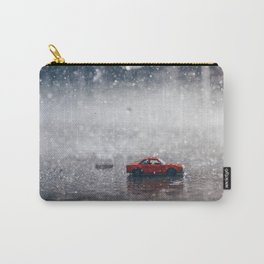 The Car in the Rain Carry-All Pouch