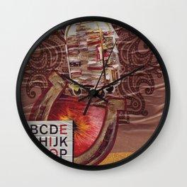 Heavy Reading Wall Clock