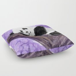 Panda bear sleeping Floor Pillow