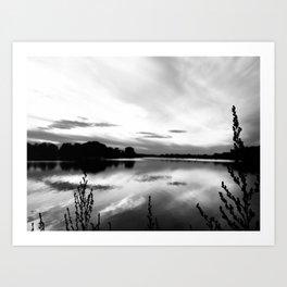Obear Park - B&W Art Print