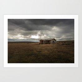 Abandoned Home, Wyoming Art Print