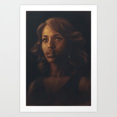 Kerry Washington Art Print