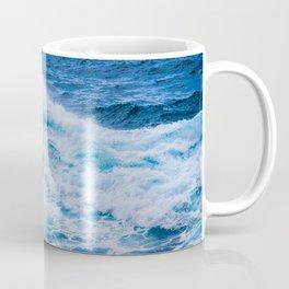 Waves on rock at Atlantic ocean. Coffee Mug