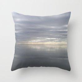 Icy Michigan Lake #2 Throw Pillow