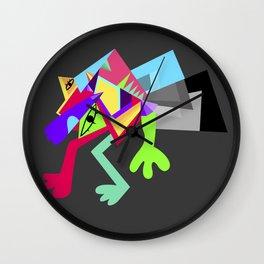 Monsta! Wall Clock