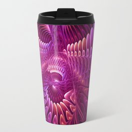 Fractal Chaos and Order Travel Mug