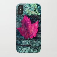 woods iPhone & iPod Cases featuring woods  by mark ashkenazi