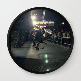 Freestyle | Skateboarding Wall Clock