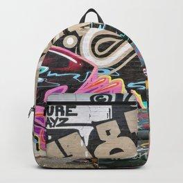 A New London graffiti urban wall photo Backpack
