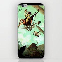 Flying Machine iPhone Skin