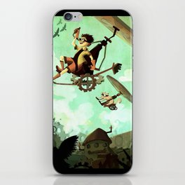 Flying Machine iPhone Skin