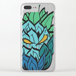 Savage Pineapple Clear iPhone Case