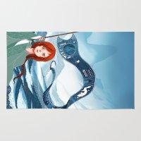 saga Area & Throw Rugs featuring The Banner Saga by Tori