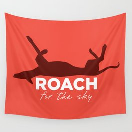 Roach for the Sky Wall Tapestry