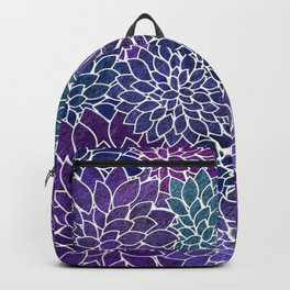 Floral Abstract 22 Backpack