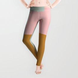 Geometric Color Block #4 Leggings