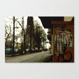 Dark Day in Berlin Canvas Print